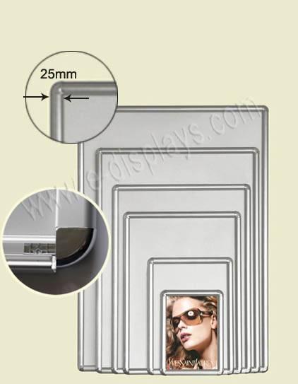 poster frame;snap frame;poster display stand