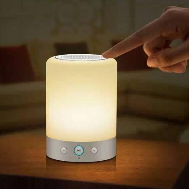 Camp Lantern RGB Night Lamp With Bluetooth Speaker FM