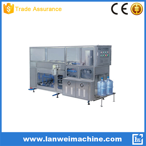 200BPH bottle washing filling capping machine