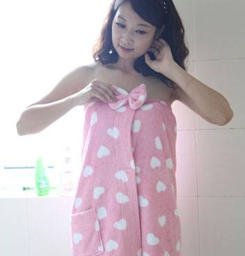 Ladies Coral Fleece Dress1