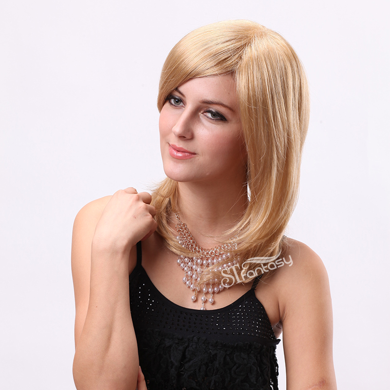 Wholesale Blonde Synthetic Wigs For Women From CHINA