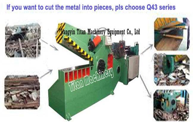 Q43-3150 hydraulic scrap metal alligator shear