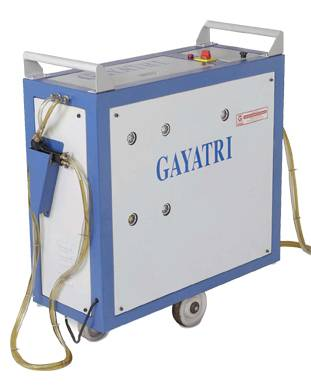 Spindle lubricating machine