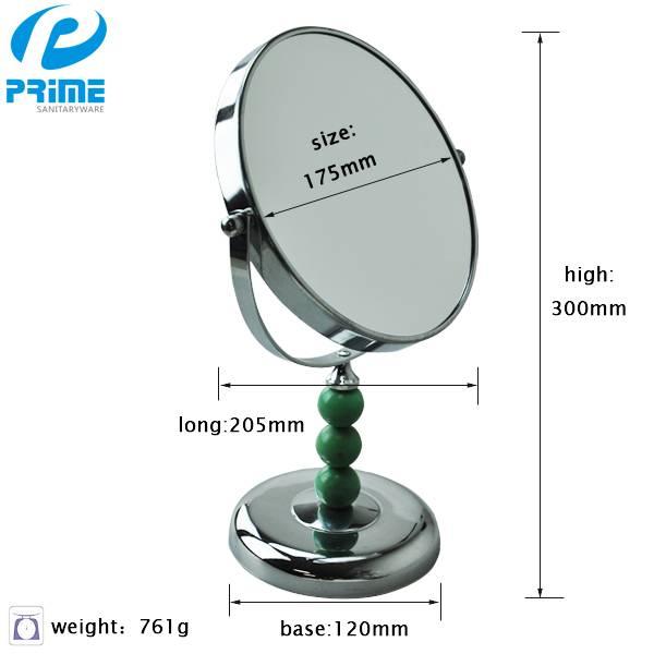 PRIME Jiangmen magnifying round acrylic tabletop mirror