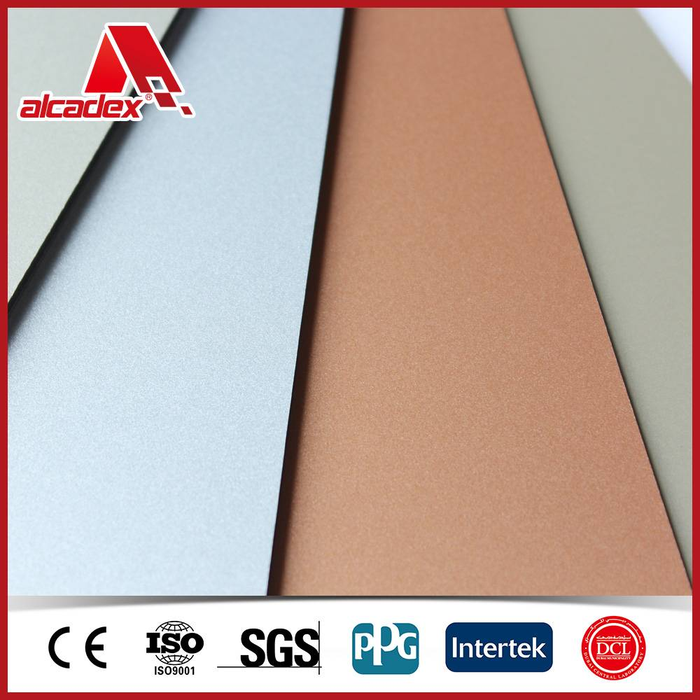smooth perfect flatness aluminum composite panels