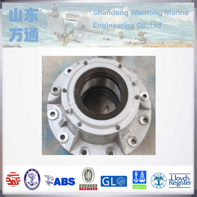 Marine surface friction upper rudder bearing carrier CB789-87 for small vessels