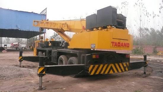 Used Mobile Crane TADANO 50TON TL-500E