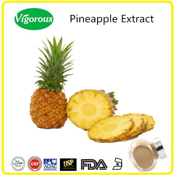 GMP Kosher Halal certificate natural bromelain pineapple extract