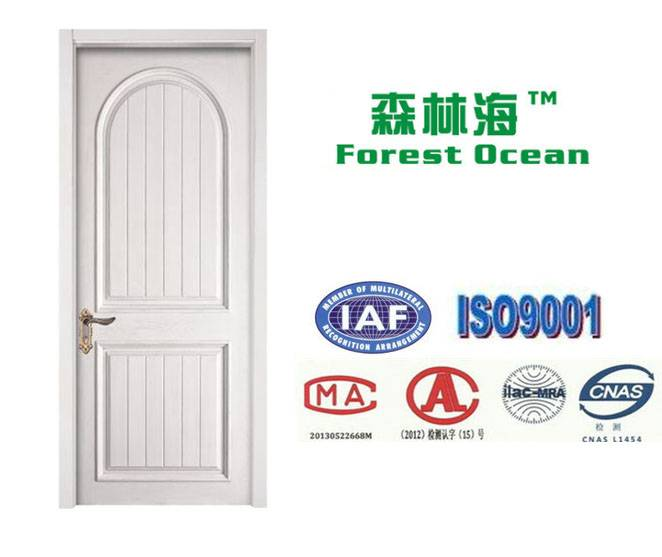 Hot selling white wooden door design