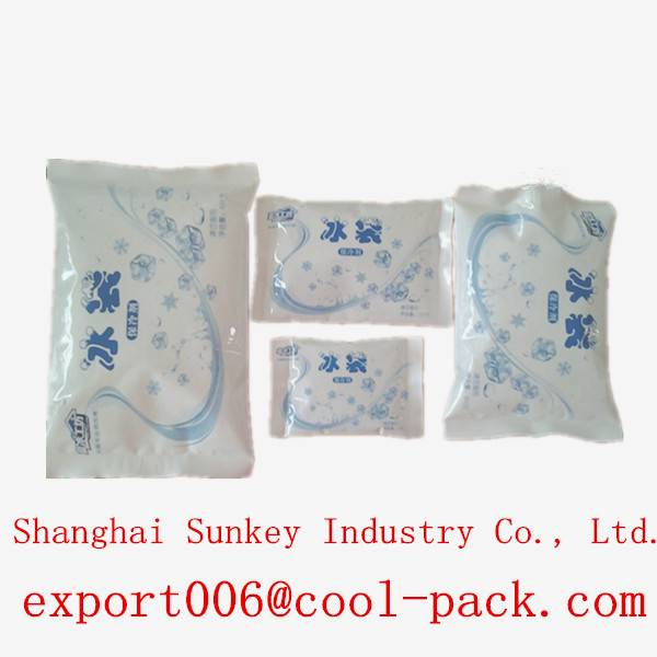 blue gel ice packs for long-distance transport