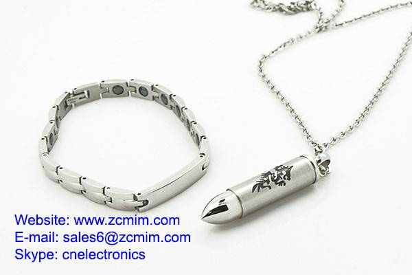 Small Precision Metal Injection Molding Latest Stainless Steel Jewelry Sets