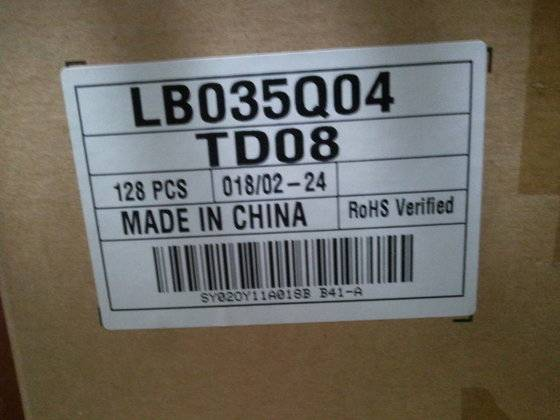 LB035Q04-TD08 TFT LCD MODULE