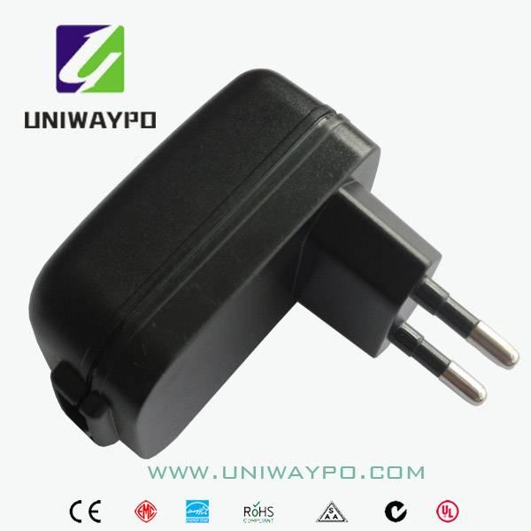 5W universal power adapter with EU plug