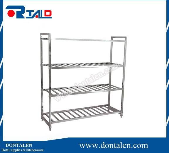 stainless steel kitchen storage rack