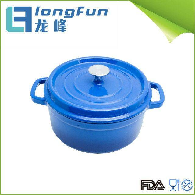 Color Enameled Cast Iron Mini Casserole Dish