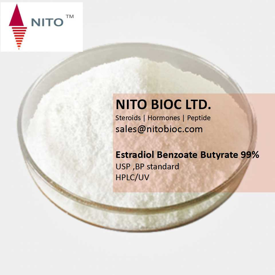 Hot Sell Strong Steroid Powder: Estradiol Benzoate Butyrate with CAS NO:63042-18-2