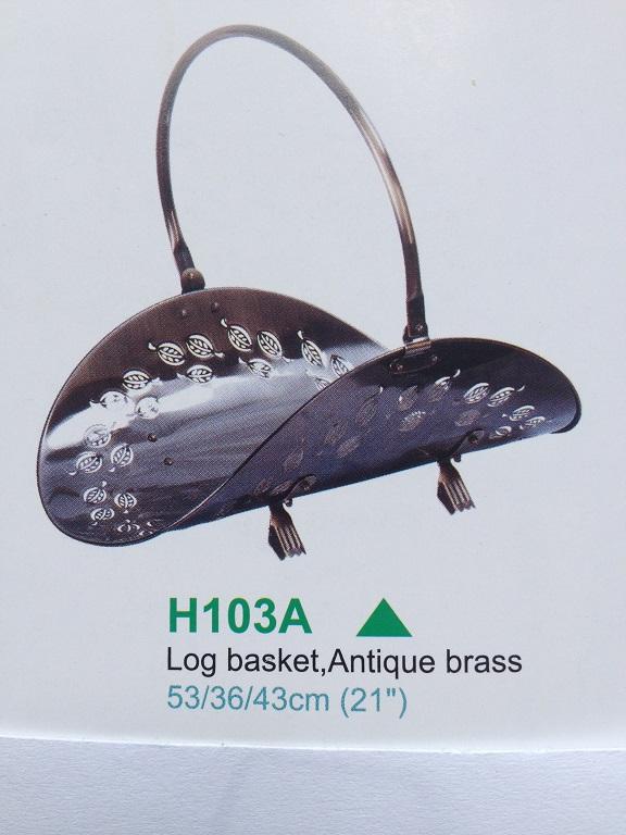 """fireplace log holders NO.H002AF,21"""""""