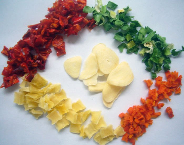 Dehydrated Vegetable For Instant Noodles, dehydrated potato, dehydrated pumpkin slice, Dehydrated Ga