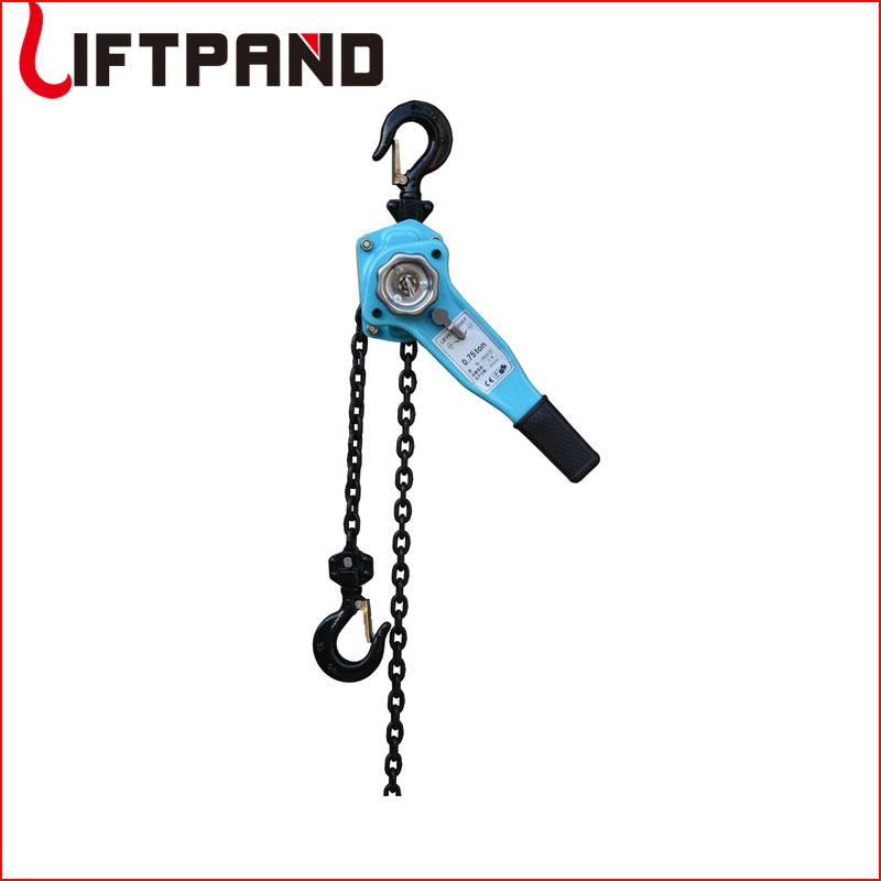 Hoist lifting pulley lever block