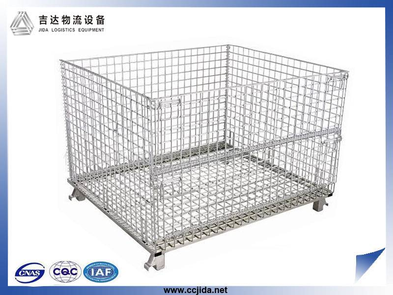 Hot sale transport stacking steel wire mesh storage cage