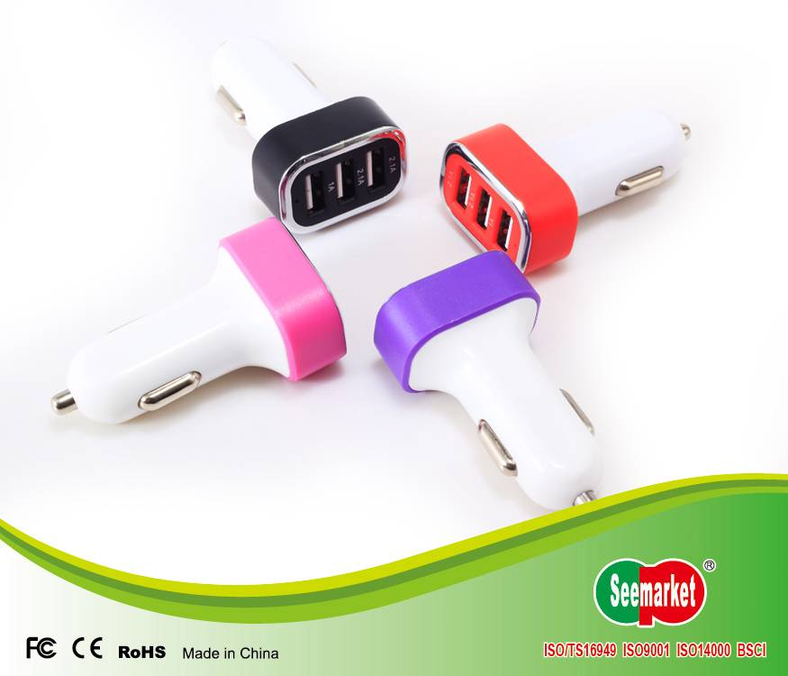 Usb Car Charger for Cell Phone