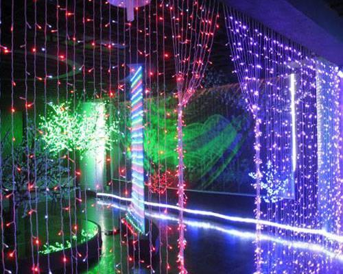 Christmas Decoration 35W LED curtain light