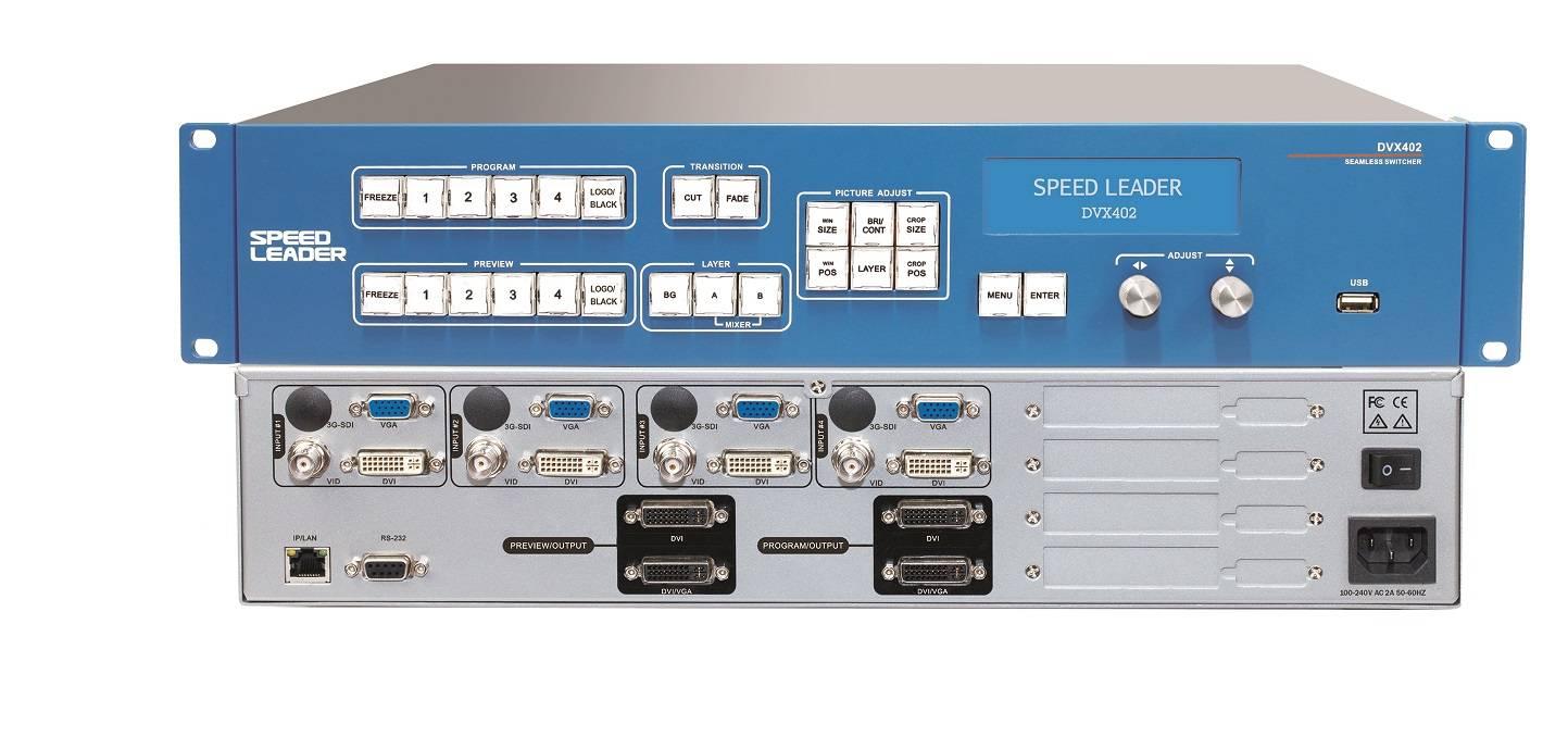 Speedleader DVX402 LED Video Processor