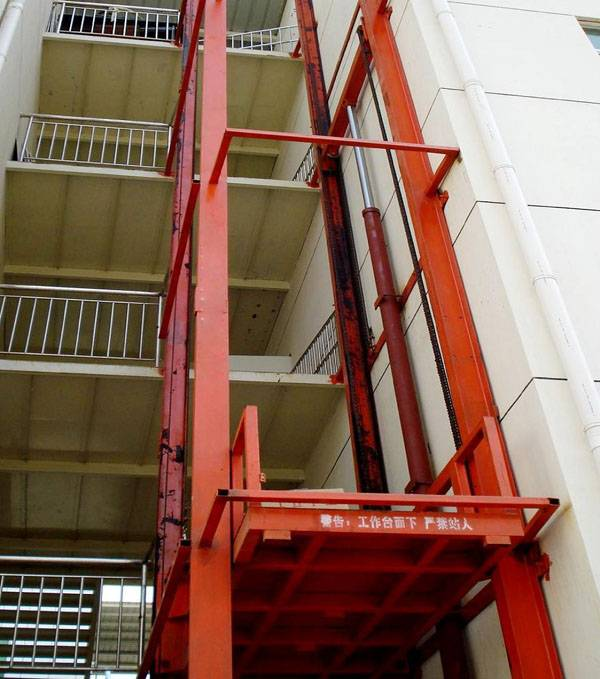 cargo liftiing guide rail lift cheap price