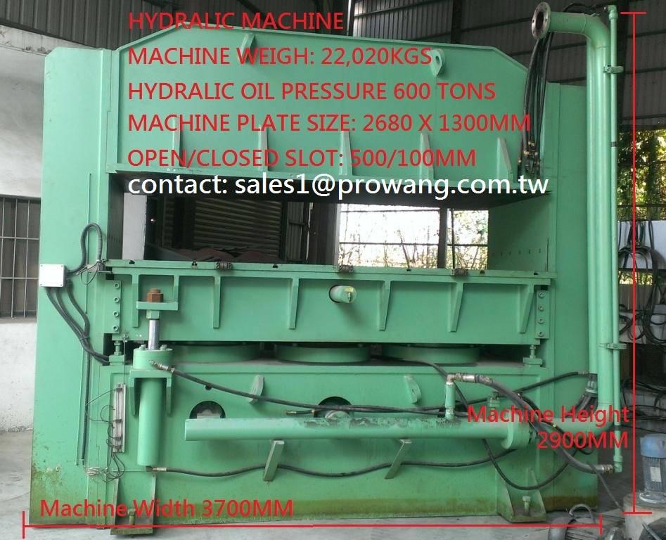Hydraulic Machine 600 Ton