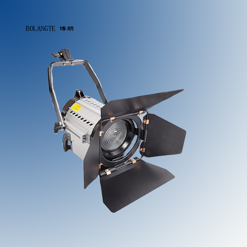 Bolang fresnel LED spotlight flash light studio video lamp DMX150W