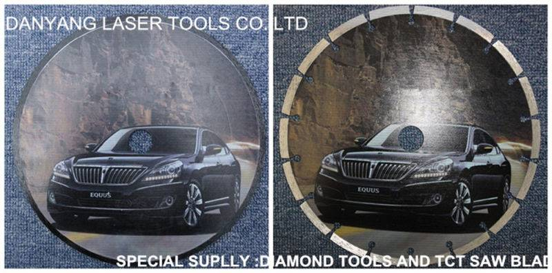 Diamond Saw Blade for Stone with New Package Sticker