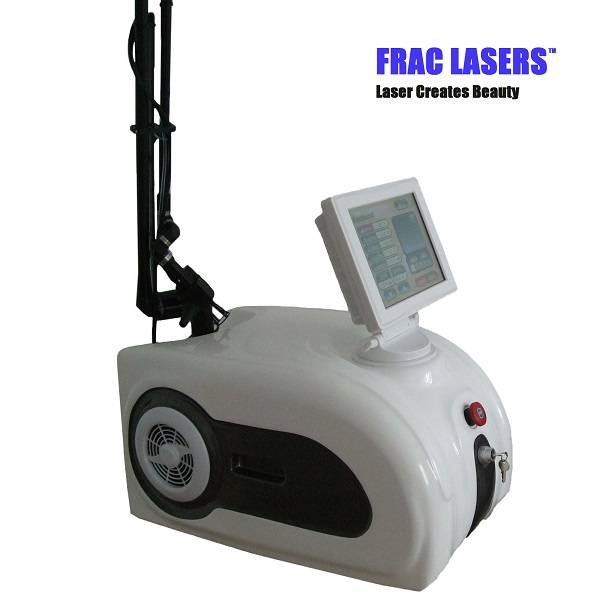 Portable co2 fractional laser wrinkle removal scar removal machine