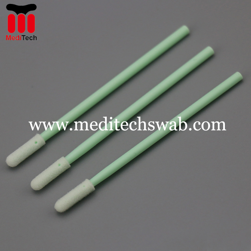 Clean room micro swabs