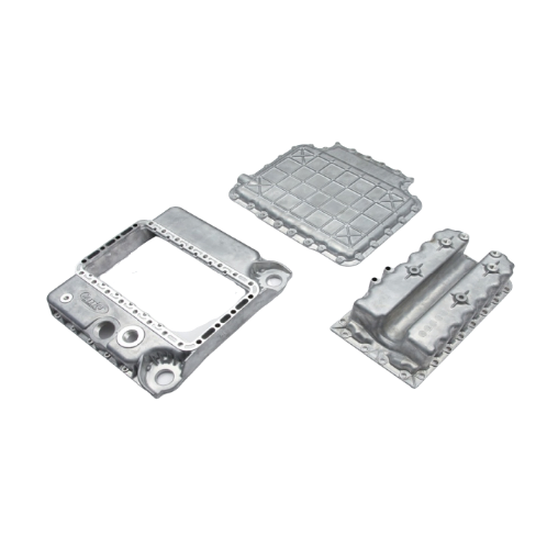 Digital door lock components, oil pan for automative engines, TV monitor stand, etc