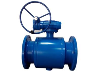 Reduced Port Flange End Fully Welded Ball Valve