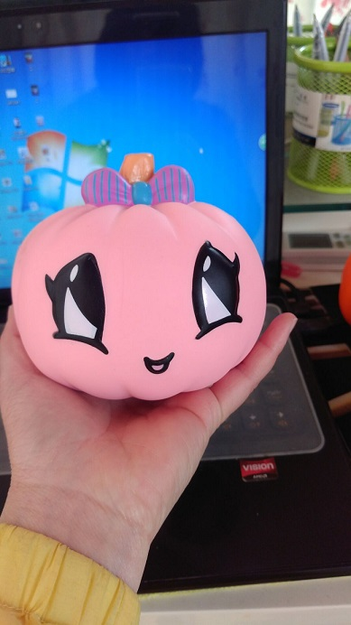 12cm slow rising pumpkin squishy