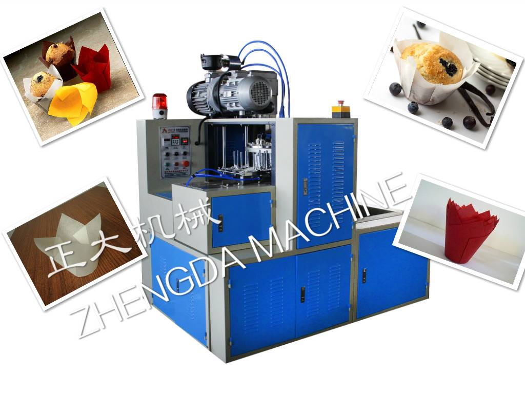 JDGT-TF Full-automatic Tulip Cake Cup Machine