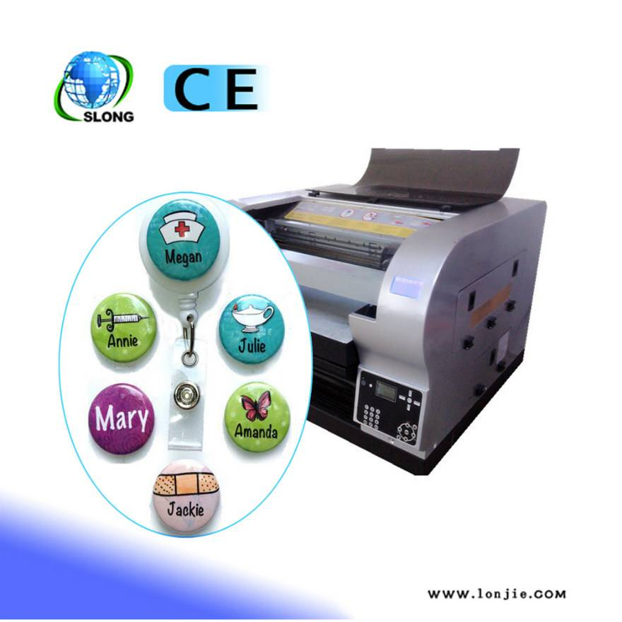 8 Color 3D Effect Digital Metal UV Printer