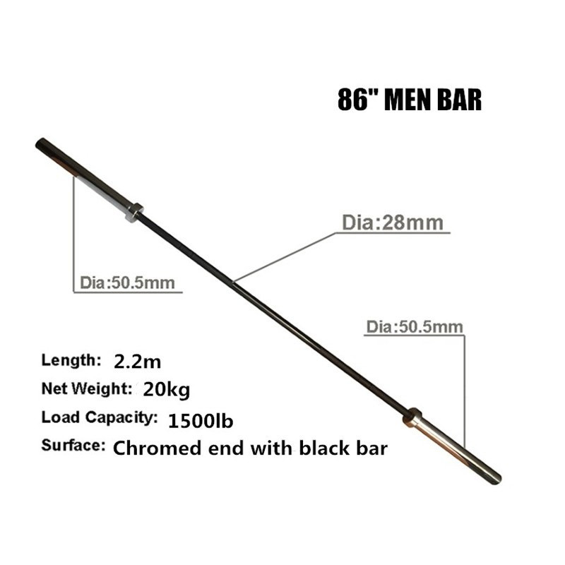 Crossfit 15kg & 20kg Olympic Weight Lifting Barbell
