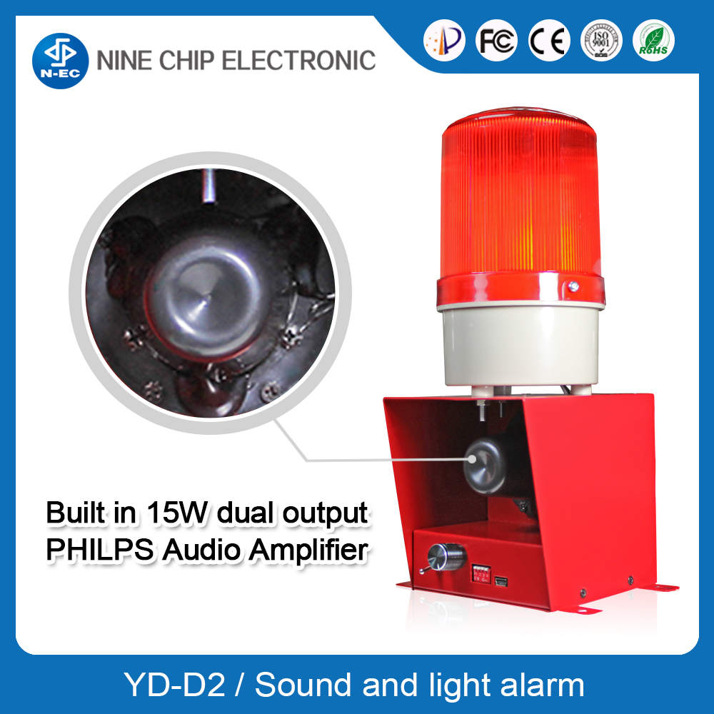 Fire Alarm Annunciator with Fire Alarm Horns & Strobes - Manufacturer