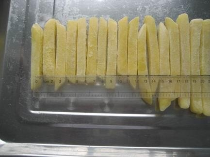 IQF Potatoes Frozen French Fries