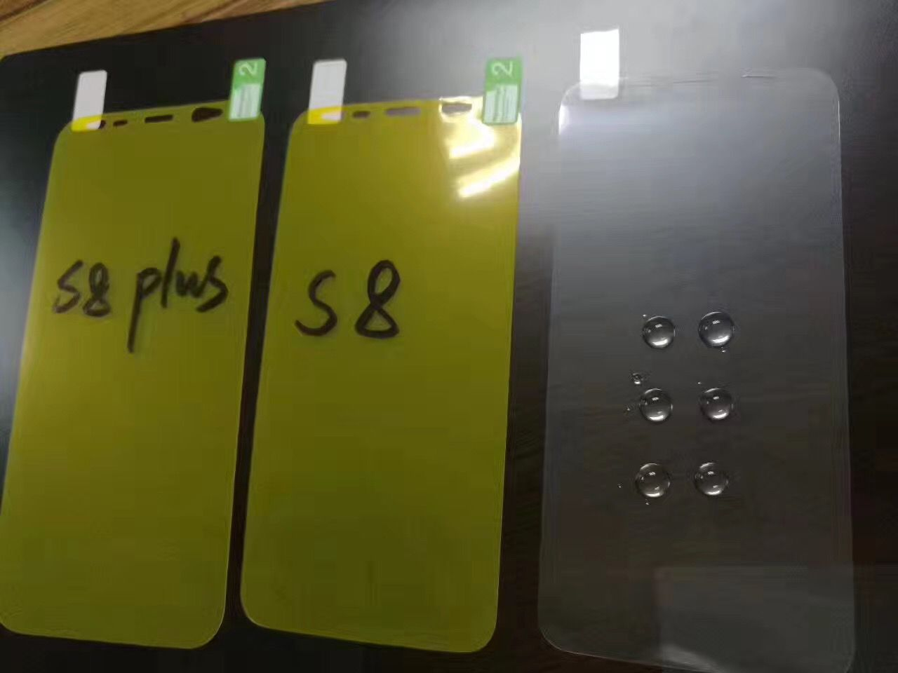 Full Coverage Front and Back screen protector for S8/S8PLUS