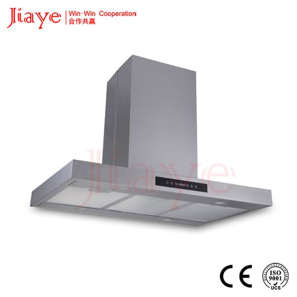 Two side touch switch control commercial island kitchen hood