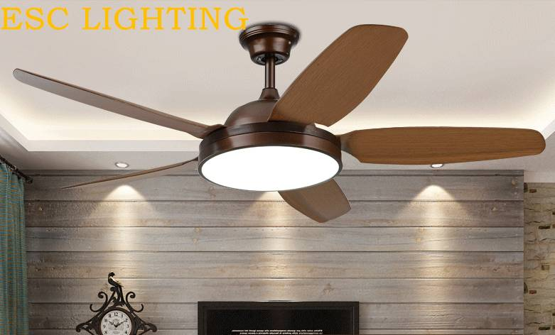 42'' modern LED ceiling fan light remote control