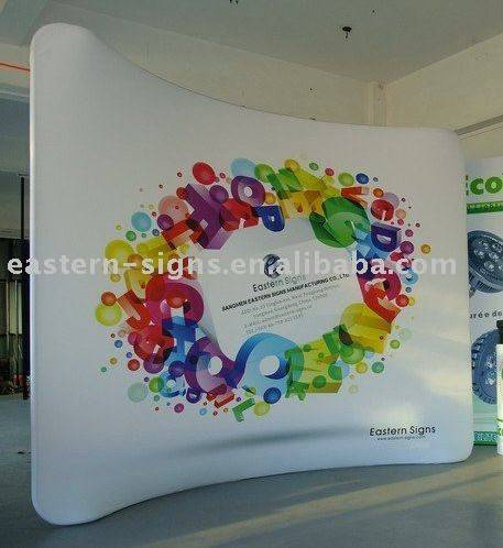8ft Tension Fabric Display Stand