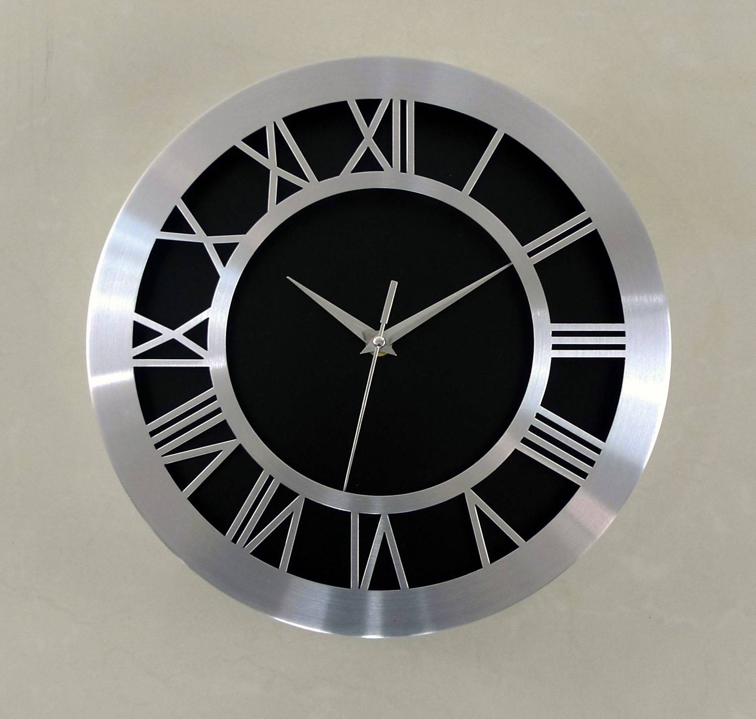 decoration wall clock  metal clock custom printing