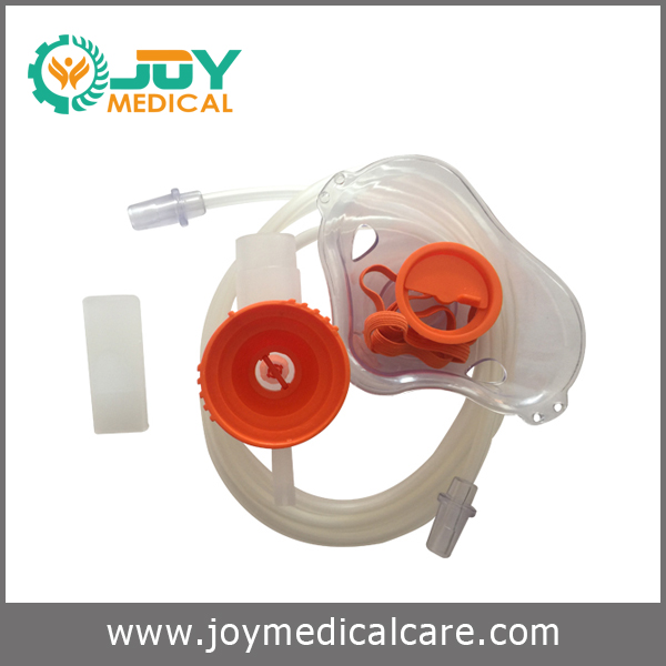 Disposable oxygen nebulizer