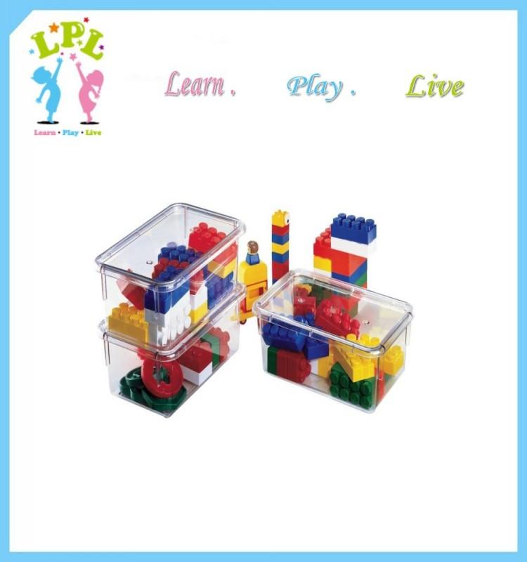 2016 food grade pp plastic eco friendly storage bin clear plastic box