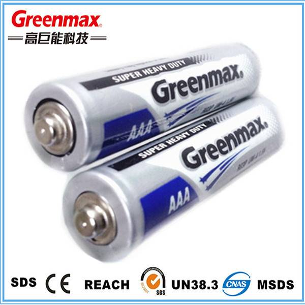 China manufacture 1.5v r03p aaa um4 dry battery
