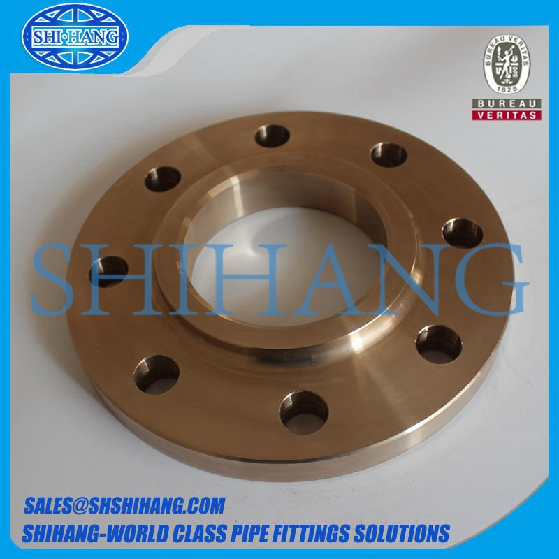 copper nickel cuni 90/10 c70600 slip on flange
